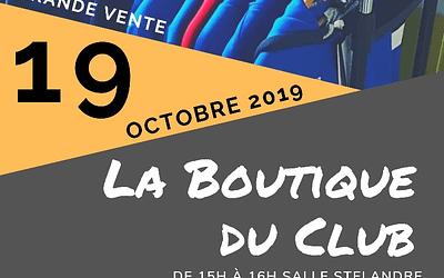 Grande Vente – Boutique du Volley Ball de Roncq – Octobre 2019