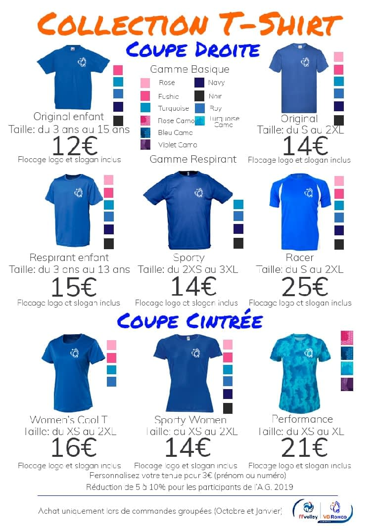 Collection T shirt
