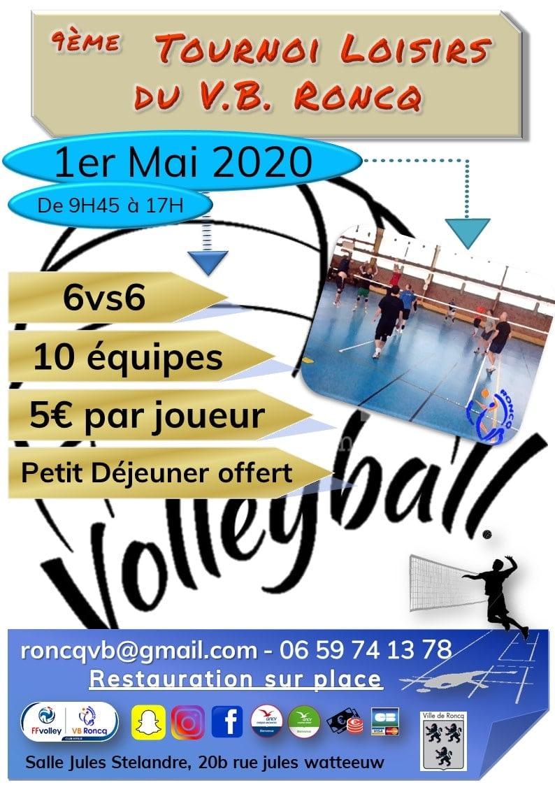 Affiche Tournoi Loisirs 2020