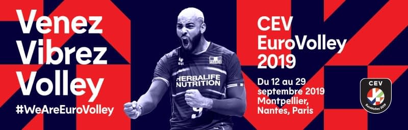 Programme TV des rencontres de la Coupe d'europe de volley 2019
