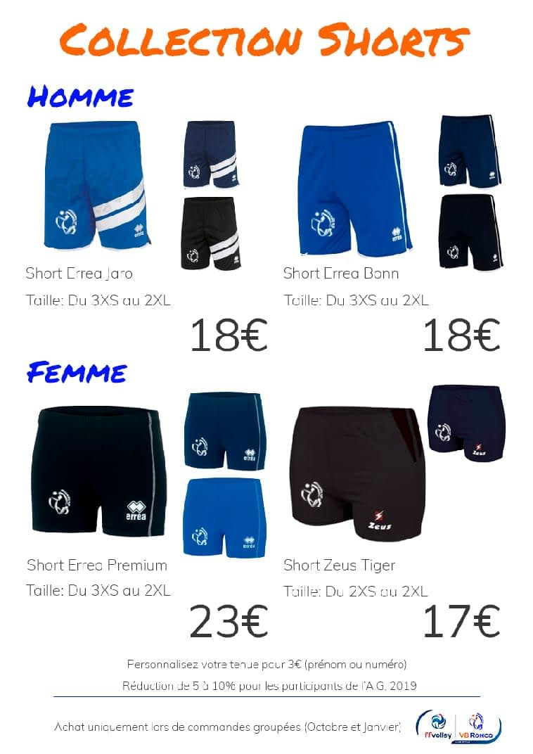 Collection Shorts