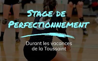 Stage de perfectionnement et journée d'intégration de la Toussaint 2020